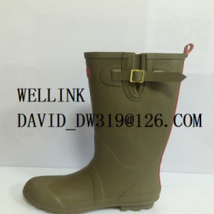 Ladies Rb Rainboot with Adjustable Strap pictures & photos