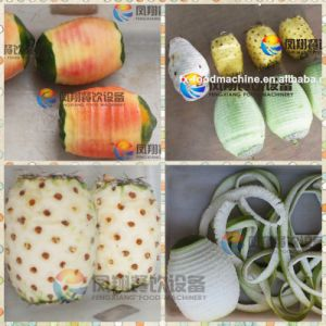 4 PCS/Minute Automatic Fruit Coconut Pineapple Watermelon Grapefruit Peeler pictures & photos