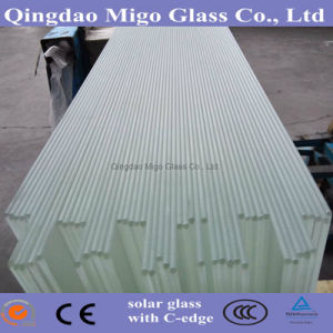 3.2mm Low Iron Solar Panel Tempered Glass Supplier pictures & photos
