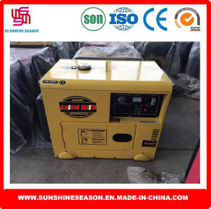 Soundproof Generator for Home Use 3kw Silent Type SD3500t pictures & photos