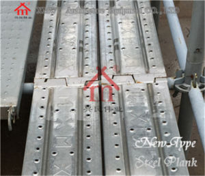 Construction Steel Metal Plank Scaffolding Plank Used for Working Platform