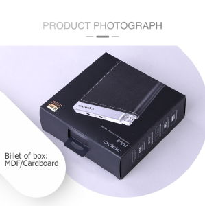Durable High-Grade Rigid Black Electronic Packaging Gift Box pictures & photos