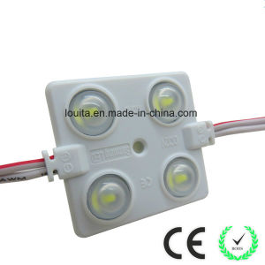 5730 4LED Square Injection Module with Frosted Lens pictures & photos