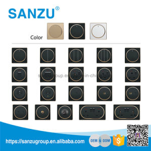 Factory Price High Quality Home Use 2 Gang 13A White Socket pictures & photos