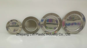 Plastic Plate, Disposable, Tableware, Tray, Dish, PS, SGS, Silver, PA-04 pictures & photos