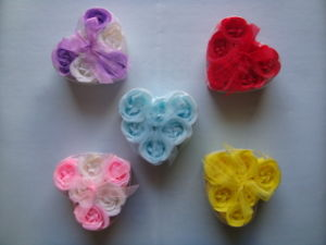 Soap Flower in Gift Set pictures & photos