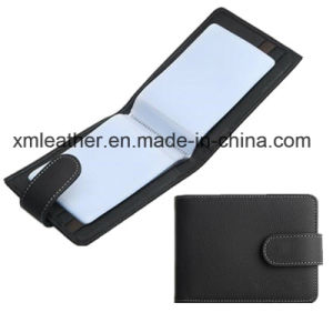 Leather IC Card/Bus Card/Metrocard Use Access Card Holder pictures & photos