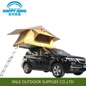 High Quality Rip-Stop Polyester-Cotton Canvas Car Roof Top Tent pictures & photos