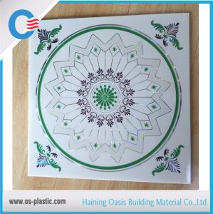 Square 595mm & 603mm PVC Ceiling Panel Ceiling Board pictures & photos
