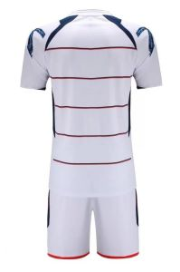 Fashion Blank White Soccer Uniforms pictures & photos