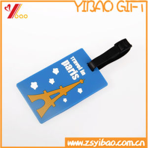 Cartoon PVC Travel Luggage Tag Personalized Customed Luggage Tag pictures & photos