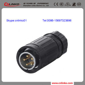 5 Pin Power Plug Connector for LED Display Screen and Audio pictures & photos