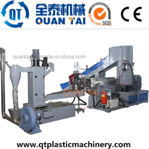Double Stage Film Plastic Pelletizing Plant/ Granulation Machine/ Pelletizer pictures & photos