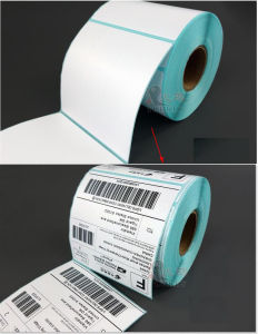 Thermal Label Shipping Label Roll Zebra Label pictures & photos