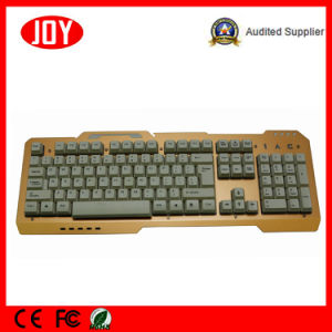 Colorful Changeable Laser Gaming Keyboard Backlit USB Port pictures & photos