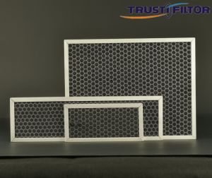 Plastic Honeycomb Charcoal Filter pictures & photos