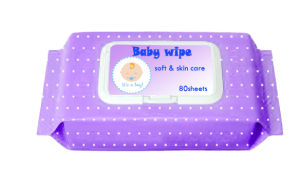 80PCS Nonwoven Fabric Wet Baby Wipe Baby Product (BW003) pictures & photos
