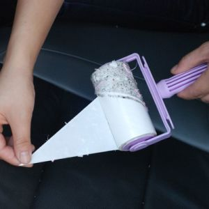 Sticky Cleaning Tape Self Adhesive Lint Roller Sticky Paper pictures & photos