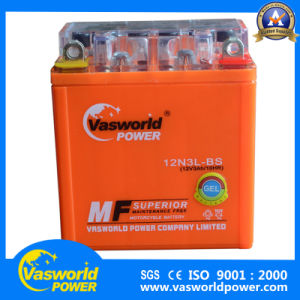 Spaninsh Market Motorcycle Battery 12V 3L pictures & photos