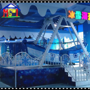 2018 Amusement Park Facilityes Pirate Ship Swing Kiddie Ride Boats pictures & photos