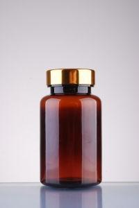 Aluminium Cap Pet Bottle for Medicine Capsule Plastic Packaging pictures & photos