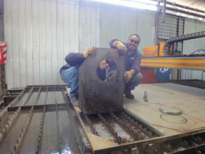 Table Type CNC Plasma and Flame Cutting Table pictures & photos