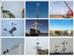 Hot Sale Small 12V 24V 300W Horizontal Wind Generator pictures & photos