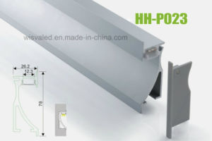 Hh-P023 Special LED Aluminum Profiles for Wall pictures & photos