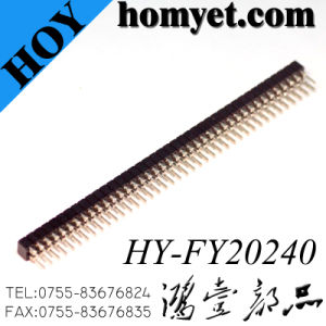 Pin Header, Female Header Connector Double Row pictures & photos