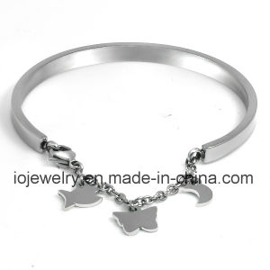 Mirror Polishing Charms Bracelet Bangle pictures & photos
