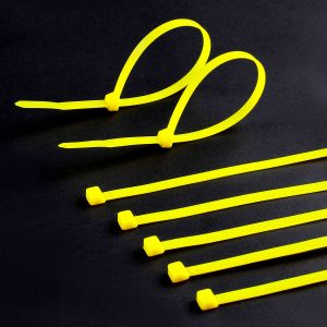 100 Pack 10 Inch Zip Cable Ties Nylon Cable Tie Black 50 Lbs UV Weather Resistant Wire pictures & photos