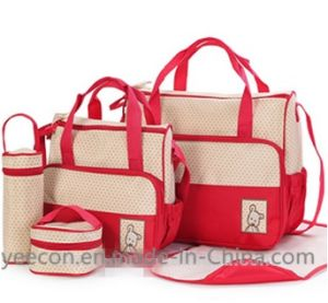 Polyester Multifunctional Handbags Adult Tote Baby Diaper Mummy Bag pictures & photos