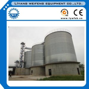 High Quality Steel Corn/Wheat/Soya Storage Silos Used in Feed Pellet Plants pictures & photos