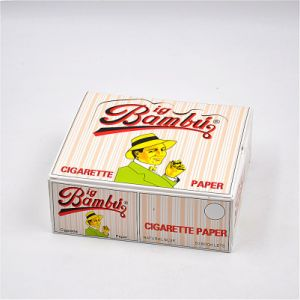 Smoking Cigarette Rolling Paper Unrefined Dry Herb Tobacco Paper pictures & photos