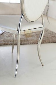 Modern Stainless Steel Dining Chair for Dining Room Furniture pictures & photos