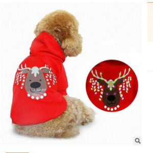 2017 New Snow Four Cotton Flannel Factory Wholesale Pet Clothing Pet Dog Clothes in Winter Pet Accessory pictures & photos