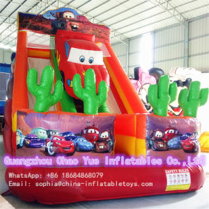 Outdoor Cute Inflatable Car Slide with Ce Blower for Kids pictures & photos