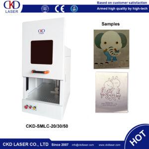 Safe Door Laser Color Marking Machine Printer on Metal pictures & photos