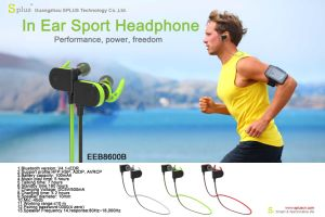 Fashion Wireless Bluetooth Earphone with Volume Control pictures & photos