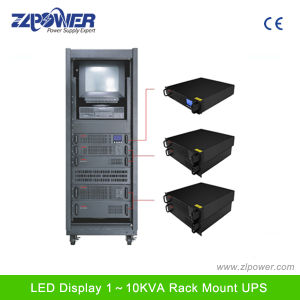 Online Rack Mount UPS 1k-10kVA, Single Phase Rack Mount UPS pictures & photos
