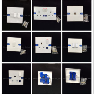Bakelite Copper Material 1 Gang TV Socket (408) pictures & photos
