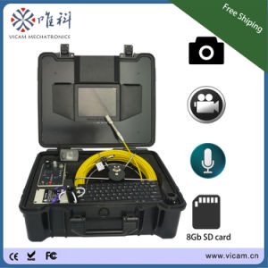 20m/30m/40m Cable Waterproof CCTV Sewer Pipe Inspection Camera with Meter Counter pictures & photos
