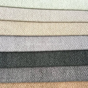 Hzh40 Twill Linen Upholstery Fabric for Sofa pictures & photos