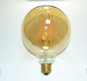 LED Filament Lamp G125 E27/B22