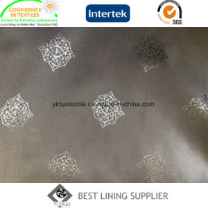 Poly Viscose Jacquard Lining Fabric Manufacturer pictures & photos