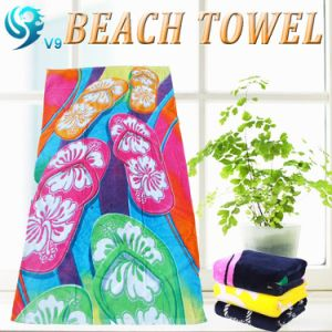 Reactive Printed Beach Towel pictures & photos