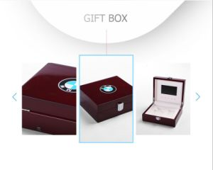 Customized High-Grade Varnished Wooden Electronics Display Box pictures & photos