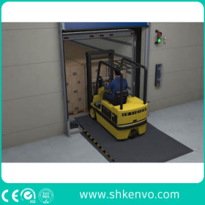 Stationary Fixed Warehouse Hydraulic Truck Container Adjustable Loading Dock Leveler pictures & photos