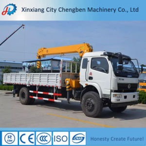 Truck Crane Feature Hydraulic Cargo 8 Ton Truck Mounted Crane pictures & photos