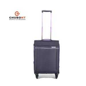 Chubont New 4 Wheels Double Zipper 3PCS Leisure Luggage pictures & photos